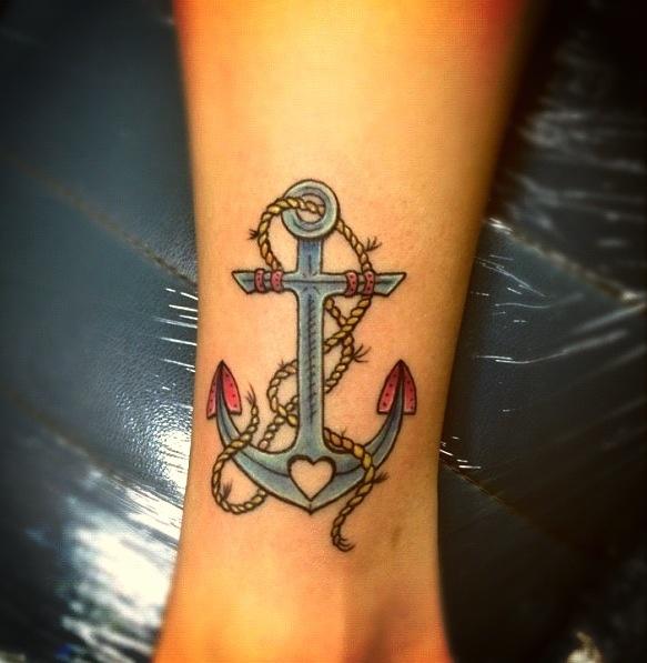 Anchor tattoo!