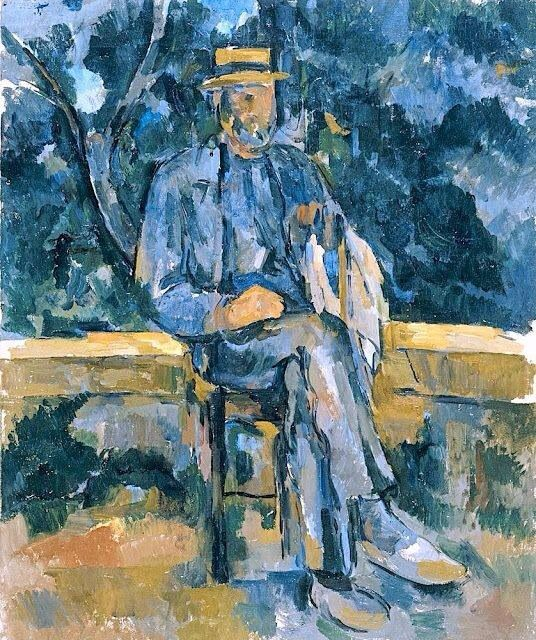 Paul Cézanne   Man with a Hat   Museo Thyssen-Bornemisza, Madrid