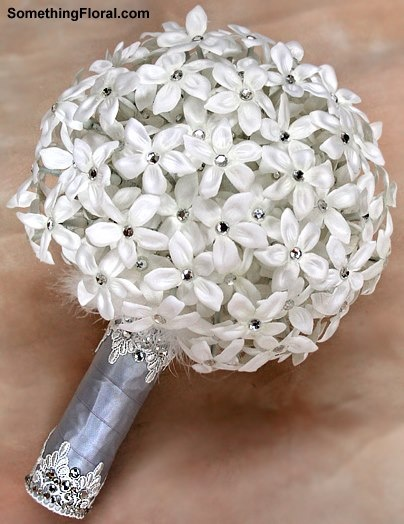 All Stephanotis Bridal Bouquet Designed With Over 200 Realistic