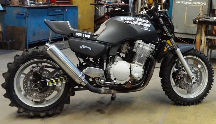 The Only Real Radical Rebuild Project Gsx 1100 G