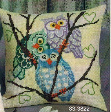 Pillows - Cross Stitch Patterns & Kits