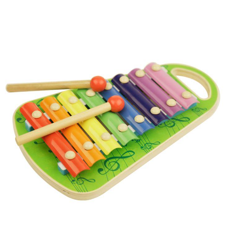 Montessori Kids Toy Round Bead Little Bear On Piano Eight Hand Preschool Brinquedos Juguets