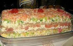 САЛАТ «СУШИ» - НЕВЕРОЯТНО ВКУСНО, НЕ ОТЛИЧИТЬ ОТ НАСТОЯЩИХ! Этот салат идеально подходит для любого праздника - гости будут в восторге, ведь салат по вкусу очень напоминает самые настоящие...