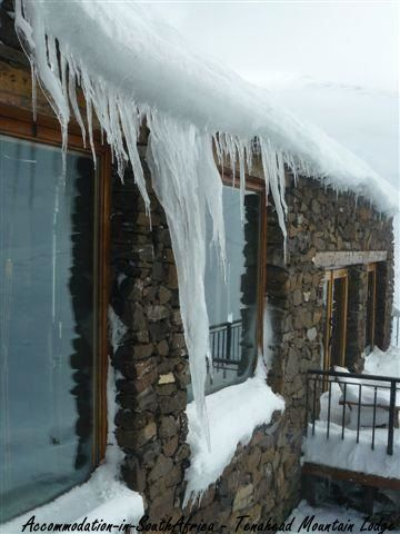 It is very cold outside!  Enjoy the warmth that Tenahead Mountain Lodge and Spa offers you. Rhodes Accommodation.
