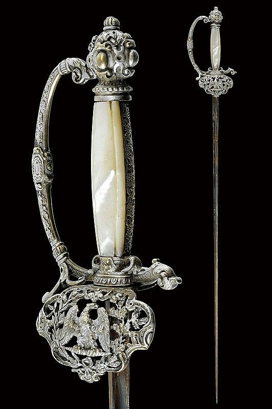 A small-sword  dating: mid-19th Century  provenance: France