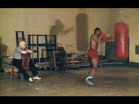 A very interesting boxing lesson by the great Iron Mike Tyson... Different technique, same principles : quickness, leverage, timing, combination, engage the whole body...