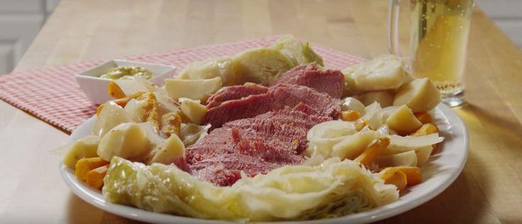 Тушеная капуста с картофелем и мясом