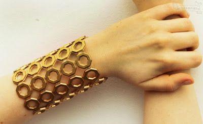 Bellart Atelier: Como fazer uma pulseira artesanal linda.