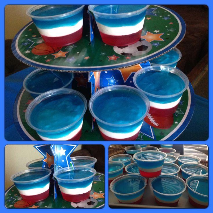 Patriotic Jello   Party Fun   Pinterest   Jello