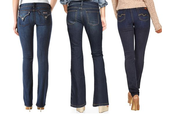 The Best Jean Pockets for your Butt Shape - flat, small, saggy and wide!