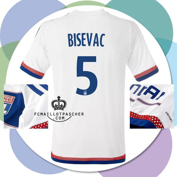 Acheter Bisevac nouveau maillot OL 2016 Domicile Football