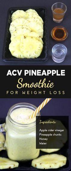 #AnanasSmoothie #Apfelessig #Gewichtsreduktion #Zu Apfelessig – Ananas …   – health-smoothies
