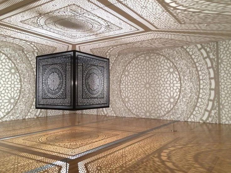 Intersections Art Installation by Anila Quayyum Agha.