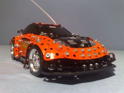 Meccano Turbo Rally RC Car Tom's Toy World - Tomania Toys