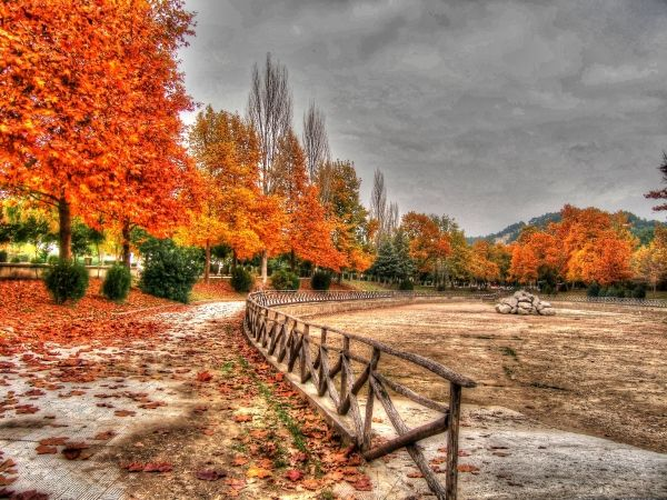 Autumn in the region of Serres, northern Greece