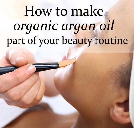 How To Use #Argan #Oil!  Organic Argan Oil For Face