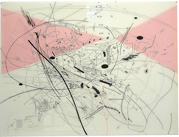 Gray Area: By Julie Mehretu.