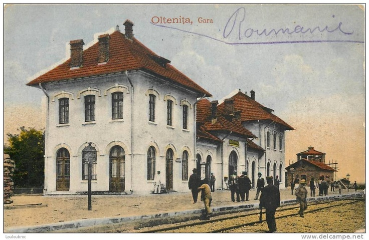 Oltenita - Gara - interbelica