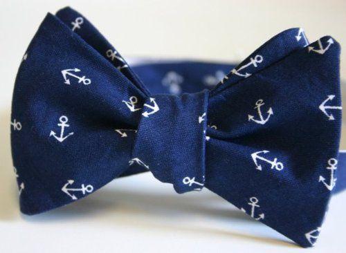 Nautical Bow Tie