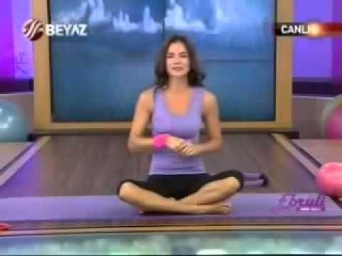 Ebru Şallı - Pilates Hareketleri - Pilates Başlangıç