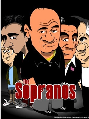 The Sopranos FOLLOW THIS BOARD FOR GREAT CARICATURES OR ANY OF OUR OTHER CARICATURE BOARDS. WE HAVE A FEW SEPERATED BY THINGS LIKE ACTORS, MUSICIANS, POLITICS. SPORTS AND MORE...CHECK 'EM OUT!! Anthony Contorno Sr