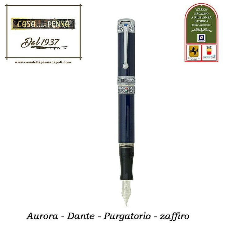"""*SU ORDINAZIONE* L'Aurora presenta la penna stilografica """"Dante Purgatorio"""" impreziosita con uno zaffiro e con soli 19 esemplari al mondo proseguimento di un viaggio, iniziato con la penna """"Dante Inferno"""". #CasaDellaPenna1937 #NegozioaRilevanzaStoricaDellaCampania #80anni #Aurora #Purgatorio #DanteAlighieri #DivinaCommedia #pen #LimitataNumerata #zaffiro https://www.casadellapennanapoli.com/divina-commedia-/359-dante-purgatorio-zaffiro-versione-esclusiva-penna-aurora.html"""
