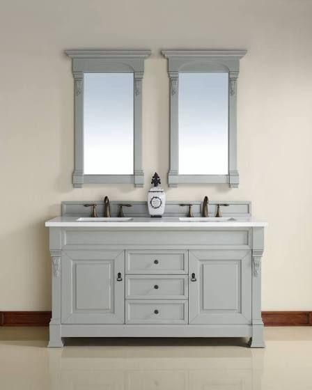 Small double vanity