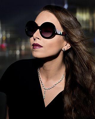 Nikita Luisa Black, Hollywood Schauspielerin/ Internationales Fotomodel wurde von PR- Agentur Peter & Partner zum Shooting gebeten. Nikita Luisa Black präsentierte die neuesten Sonnenbrillen der Designermarke AIGNER für Peter Optik …