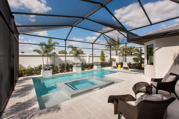 162 best outdoor living images on pinterest outdoor life for Pool design florida