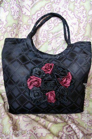 Гардероб Вышивка Шитьё Маленькие черные сумки Бисер Бусины Ленты Сутаж тесьма шнур Ткань фото 8