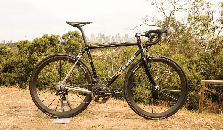 In today's edition of Bikes of the Bunch we feature Lew Targett's steel-framed Cinelli XCr, with photos from Mal Jones. I got interested in steel bikes aft