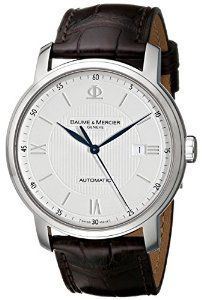 Baume & Mercier Men's 8731 Classima Automatic Strap Watch | watches.reviewatoz.com