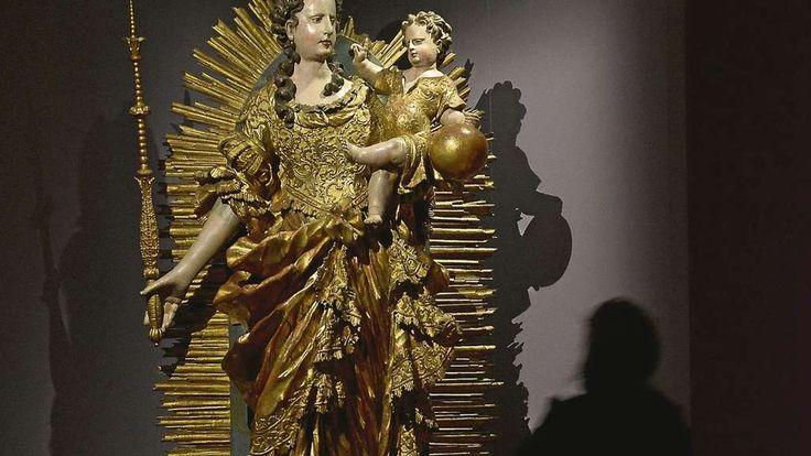 Zur Madonna gehört auch jede Menge Gold, dachte man jedenfalls im Jahr 1750.