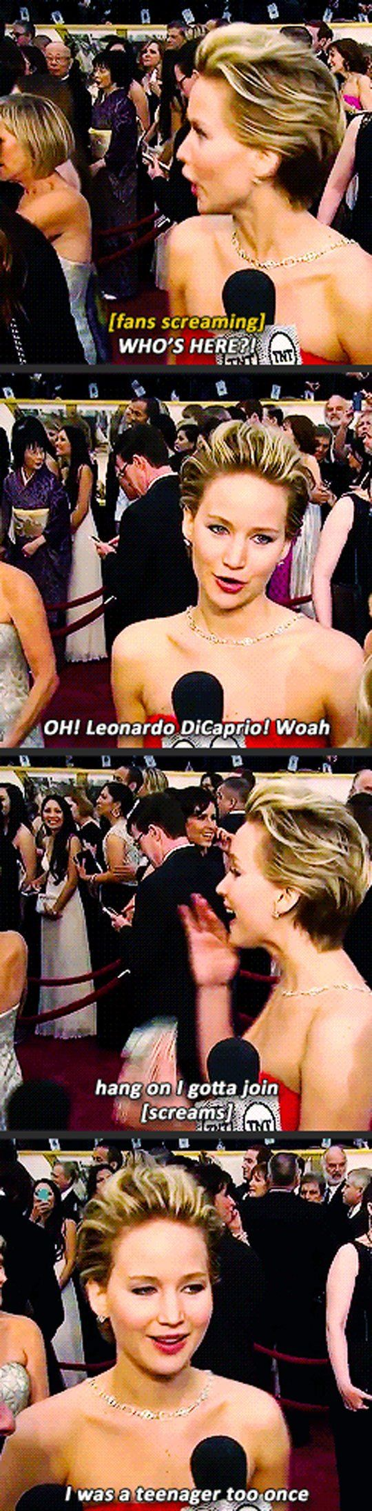 Jennifer Lawrence Was a Teenager Too