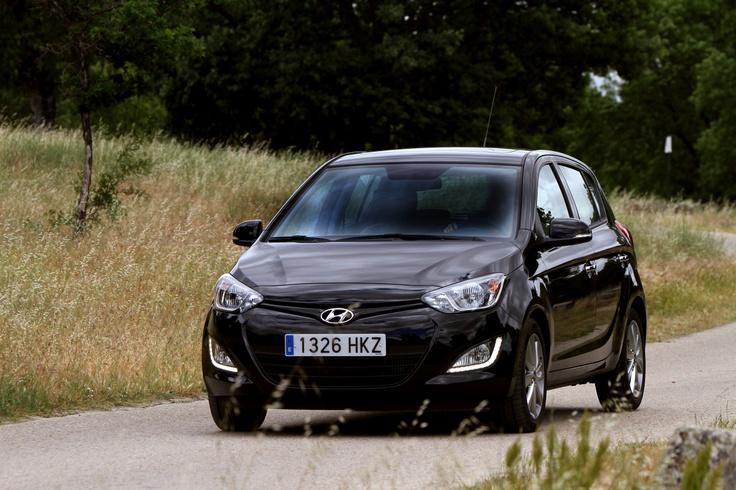 Hyundai i 20 negro