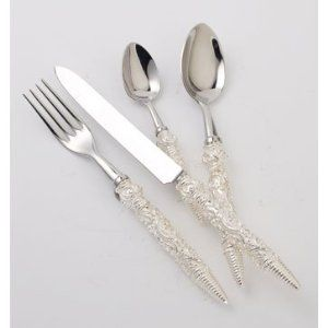 Alain Saint Joanis Hermitage Silver Bread Knife by Alain Saint Joanis. $166.00. Alain Saint-Joanis has been creating and manufacturing flatware collections for the table since 1876. In the purest tradition of French cutlery they are always adapting their craftsmen's know-how to new manufacturing techniques. Alain Saint Joanis flatware can be summed up in a single word: quality.