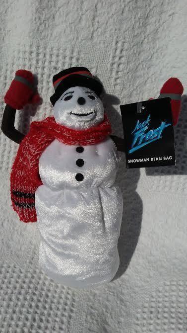 Warner Jack Frost Snowman Winter Christmas 1998 Plush