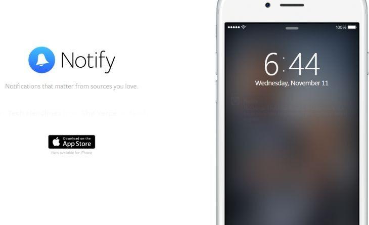 AppsUser: Notify, la nueva app de Facebook que ofrece notificaciones informativas