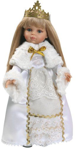 Paola Reina 313 Carla Snow Queen Doll Paola Reina http://www.amazon.co.uk/dp/B0024NKE4S/ref=cm_sw_r_pi_dp_sXKxub1FTGKWT