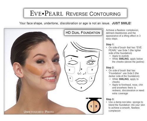 This technique is called reverse contouring I like this because it creates a more tan/glowy look to the face its great to cover up any redness that you may have towards the middle of the face.