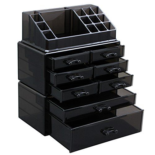 SONGMICS Makeup Organizer Cosmetic Storage Display Boxes ... https://www.amazon.com/dp/B01G6G5JJ8/ref=cm_sw_r_pi_dp_x_b2P5xbV8TN31F