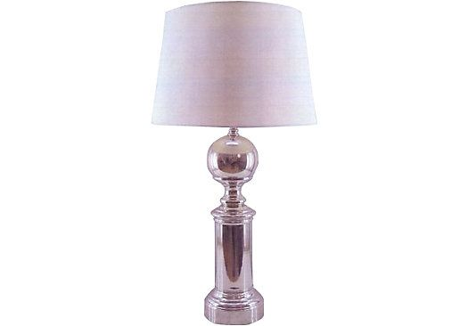 shop for a cindy crawford home trophy lamp at rooms to go find lamps. Black Bedroom Furniture Sets. Home Design Ideas