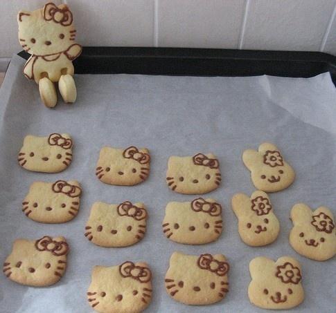 Hello Kitty sugar cookiess