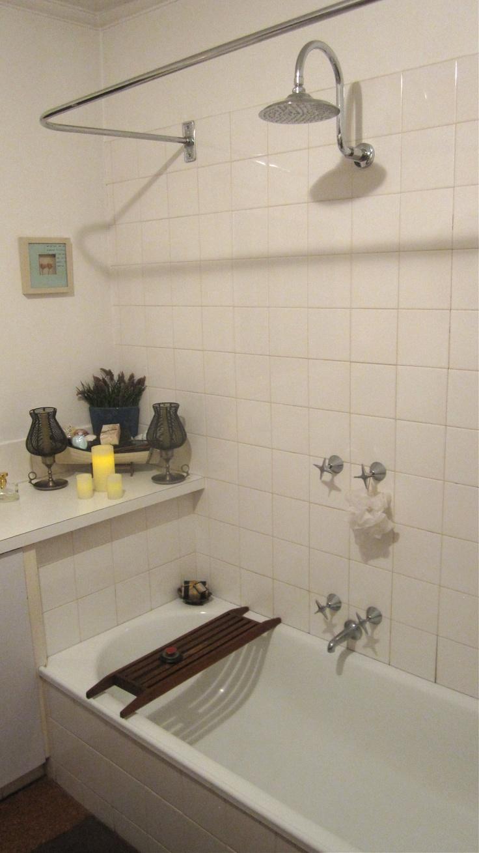 Rainwater shower & bath - Bliss!