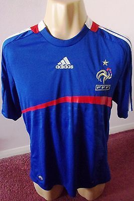 France #national team #shirt  2007 adidas branded  excellent example #medium adul,  View more on the LINK: http://www.zeppy.io/product/gb/2/371785547690/