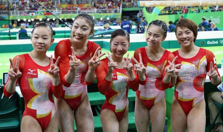 体操女子団体は4位、東京五輪以来の銅メダルに1・632点届かず【リオ五輪】