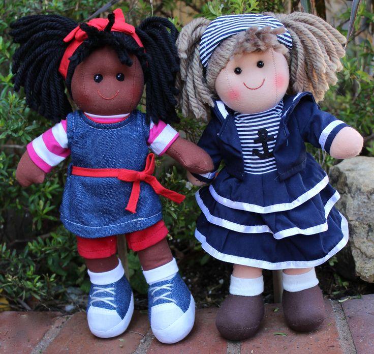 """12"""" cloth dolls at www.harmonyclubdolls.com"""