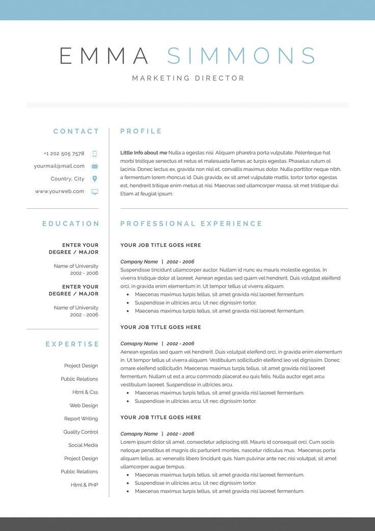Best 25+ Cover letter for resume ideas on Pinterest Template for - resume cover letters templates
