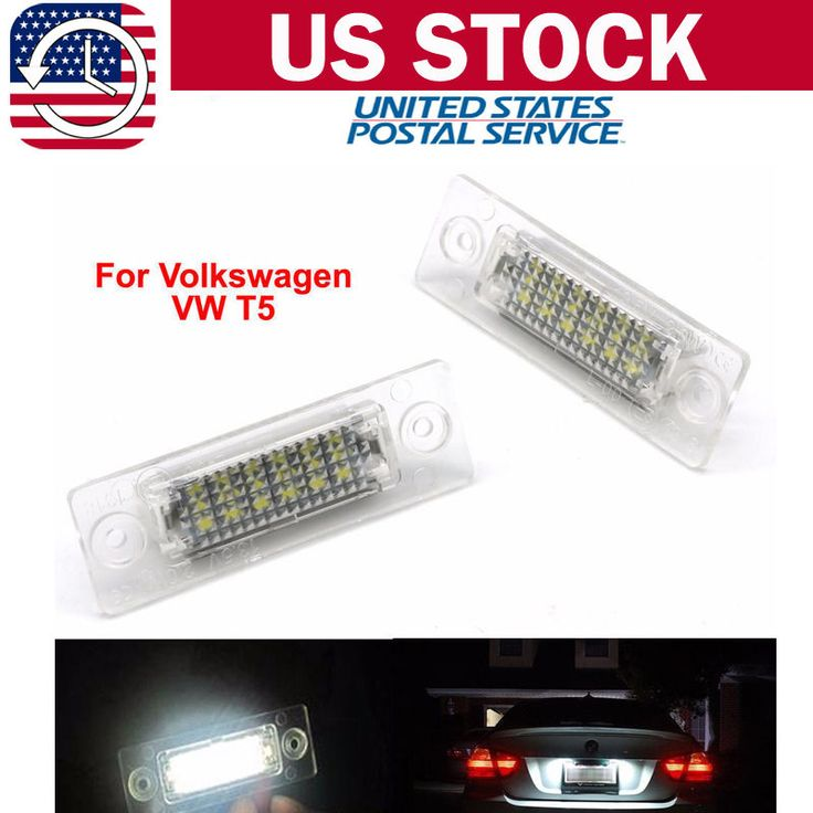 Awesome Great Set LED License Number Plate Light Lamp For VW Touran Golf Skoda Jetta Passat T5 2017 2018 Check more at http://24car.cf/my-desires/great-set-led-license-number-plate-light-lamp-for-vw-touran-golf-skoda-jetta-passat-t5-2017-2018/