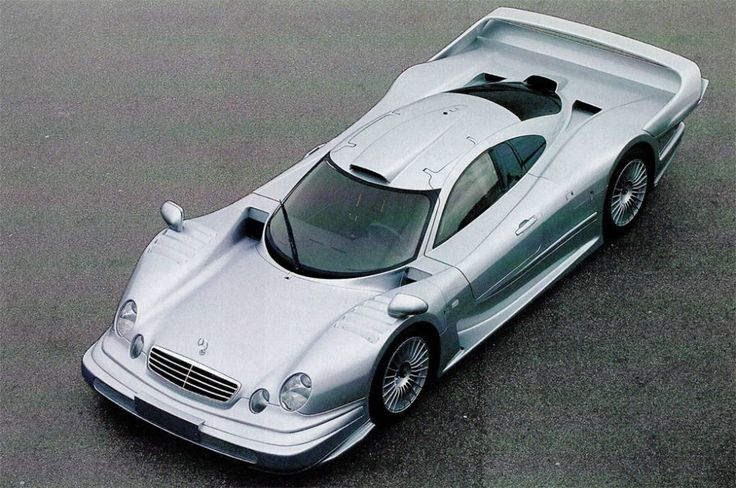 Mercedes-Benz CLK-GTR: A Race Car You Can Drive on the Street